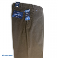 Winterweight Chino by Bruhl - Dark Brown - 0593-183240-590